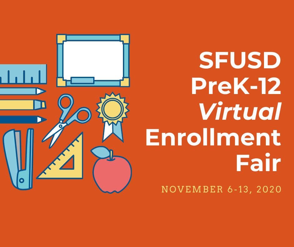 SFSUD Virtual Enrollment Open House