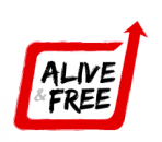 Alive and Free logo